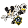 Disney Mickey Pin - MLS - Soccer Player - LA Galaxy