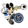 Disney Mickey Pin - MLS - Soccer Player - New York City FC