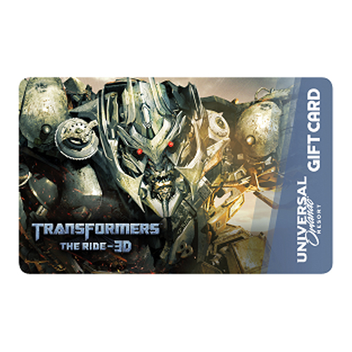 Universal Collectible Gift Card