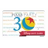 Disney Collectible Gift Card - Pixar Party 2016