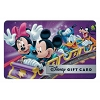 Disney Collectible Gift Card - Mickey & Pals – Crazy Coaster - Purple
