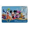 Disney Collectible Gift Card - Mickey and Friends at Cinderella Castle