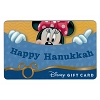 Disney Collectible Gift Card - Happy Hanukkah from Minnie