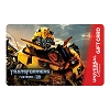 Universal Collectible Gift Card - Transformers - Bumblebee