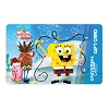 Universal Collectible Gift Card - Spongebob - Holiday Spongebob & Gary
