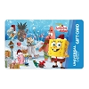 Universal Collectible Gift Card - Holiday Spongebob & Friends