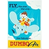 Disney Postcard - Fly Dumbo Air by Dave Perillo
