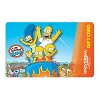 Universal Collectible Gift Card - The Simpsons Ride