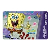 Universal Collectible Gift Card - SpongeBob SquarePants