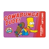 Universal Collectible Gift Card - The Simpsons - Cowabunga Dude