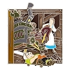 Disney Beauty and the Beast Pin - 25 Enchanted Years - Belle Maurice