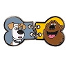 Universal Pin - The Secret Life of Pets - Max and Duke Bone