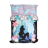 Disney Full / Queen Comforter Blanket - Little Mermaid Silhouette