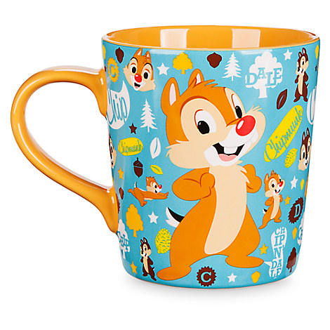 your wdw store disney coffee mug chip 39 n dale pattern mug. Black Bedroom Furniture Sets. Home Design Ideas