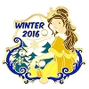 Disney Winter Pin - Winter 2016 - Belle