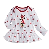 Disney Baby Dress - Minnie Mouse Polka Dot Long Sleeve Knit - Baby