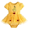 Disney Baby Bodysuit - Belle Costume Bodysuit for Baby - Yellow
