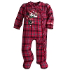 Disney Infant Coverall - Minnie Mouse Holiday Coverall for Baby