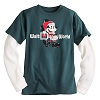 Disney Child Shirt - Santa Mickey Double-Up Long Sleeve Tee