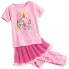 Disney CHILD GIRLS Pajamas - Princess Three-Piece Set