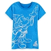 Disney LADIES Shirt - 2017 Sorcerer Mickey Mouse Tee for Women