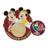 Disney Lunar New Year Pin - 2017 Year of the Rooster Mickey and Minnie