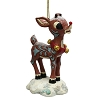 Rudolph Traditions by Jim Shore - Snow Covered Rudolph Ornament