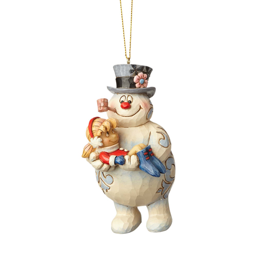frosty the snowman ornament by jim shore