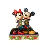 Disney Traditions by Jim Shore - Mickey and Minnie Wrapped in Quilt