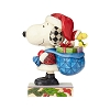 Peanuts by Jim Shore - Santa Snoopy and Woodstock