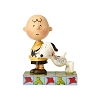 Peanuts by Jim Shore - Snoopy with Charlie Brown