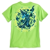 Disney Child Shirt - 2017 Sorcerer Mickey Mouse Tee for Boys - Lime
