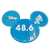 Disney Mini Ears Magnet - 2017 runDisney 48.6