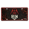 Disney License Plate - runDisney - Star Wars - Darth Vader