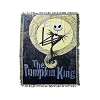 The Nightmare Before Christmas Pumpkin King Woven Tapestry Throw Blanket