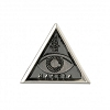 Fantastic Beast Macusa Triangle Eye Pewter Lapel Pin