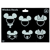 Disney Window Decal - Mickey and Minnie Icons