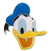 Disney Magnet - Donald Duck Icon - Metal
