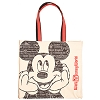 Disney Canvas Tote Bag - Mickey Mouse - Disney World Icons