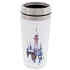 Disney Travel Mug - Ceramic Retro Art Cinderella Castle Logo Tumbler