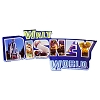 Disney Magnet - Walt Disney World Icons Logo - Acrylic