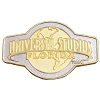 Universal Magnet -  Universal Studios Florida Logo - Gold and Silver
