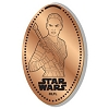 Disney Pressed Penny - Star Wars - Rey with Staff