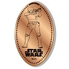 Disney Pressed Penny - Star Wars - Stormtrooper Aiming Blaster