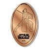 Disney Pressed Penny - Star Wars - Rey with Lightsaber