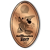 Disney Pressed Penny - 2017 Sorcerer Mickey Spaceship Earth