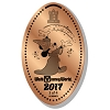 Disney Pressed Penny - 2017 Sorcerer Mickey Tower of Terror
