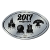 Disney Pressed Quarter - 2017 Four Park Logos Horizontal