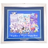 Disney Framed Pin Set - 60th Anniversary - 60 Years of Magic