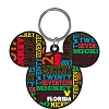 Disney Lasercut Keychain Keyring - 2017 - Mickey Ears Icon